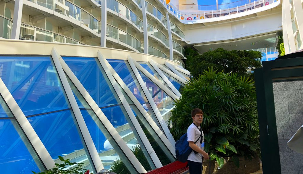 oasis of the seas central park royal caribbean