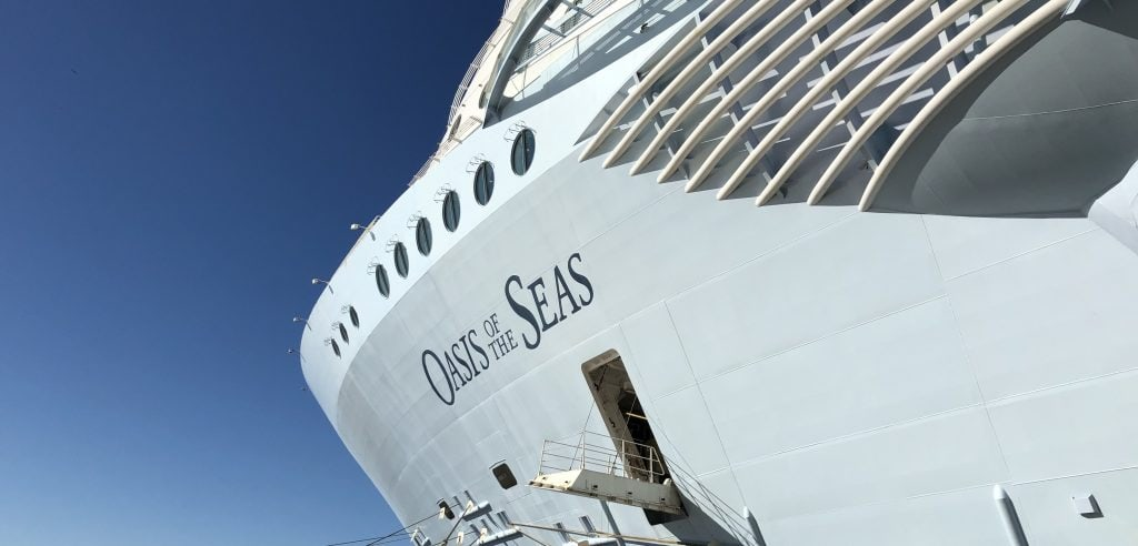 oasis of the seas cruise ship royal caribbean