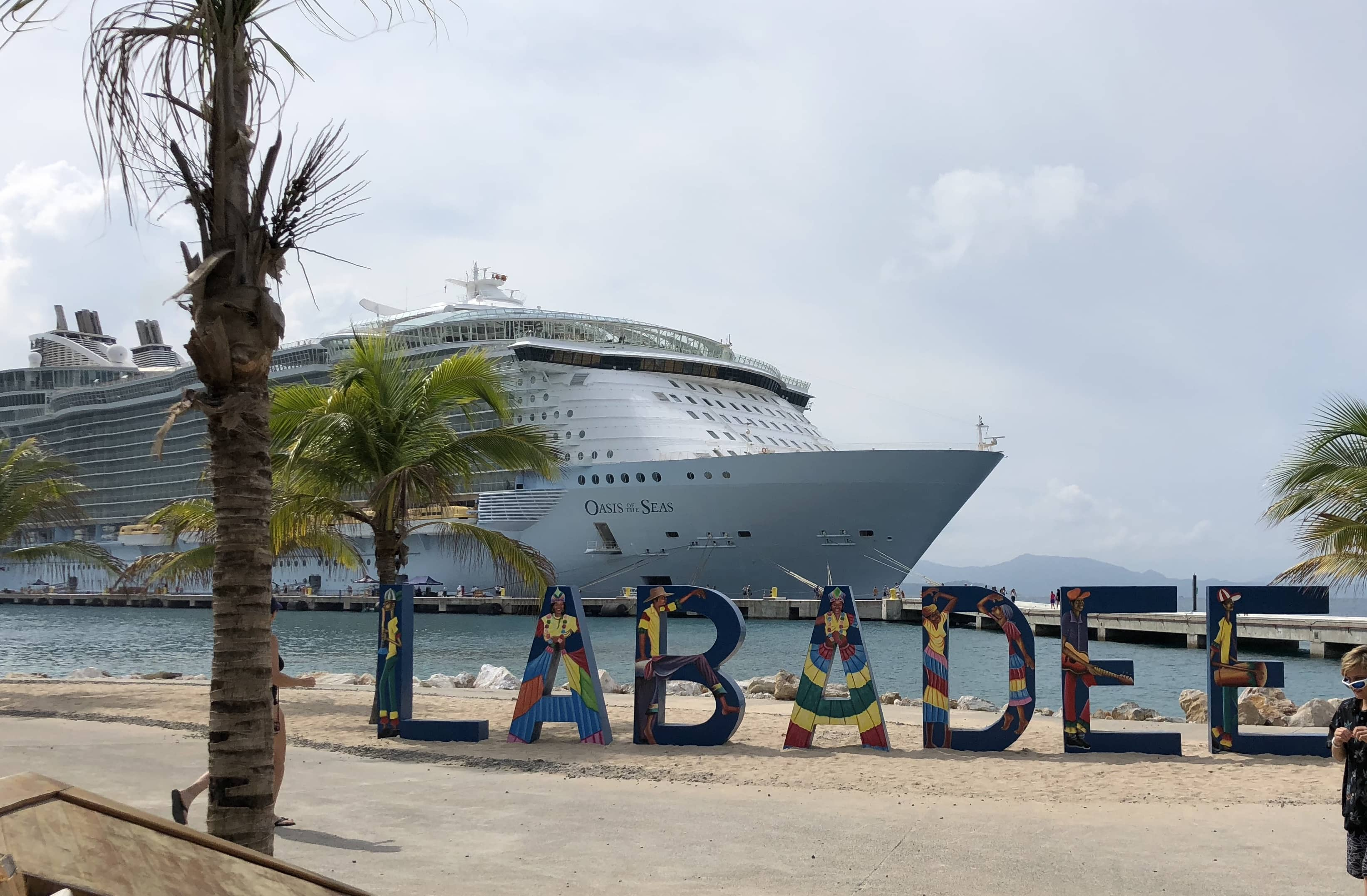 oasis of the seas labadee cruise review port canaveral beach cruise ship