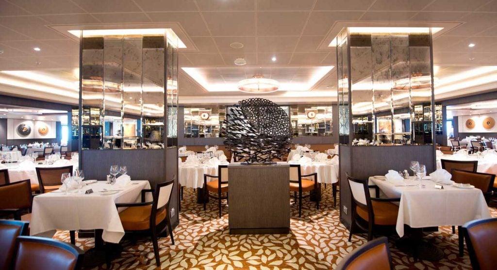 Peninsular restaurant p&o britannia dining options