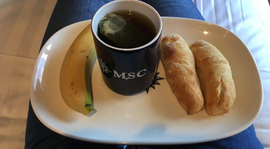 msc meraviglia buffet breakfast
