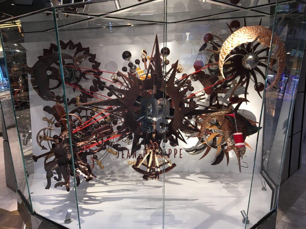 msc meraviglia chocolate clock shop