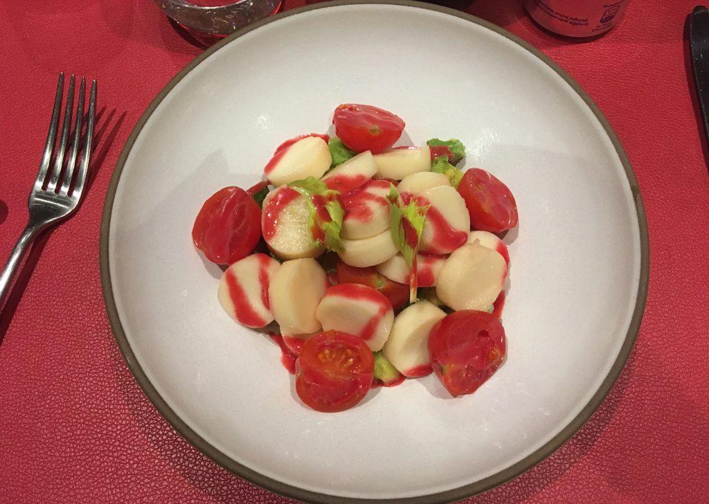 msc meraviglia butchers cut speciality restaurant starter