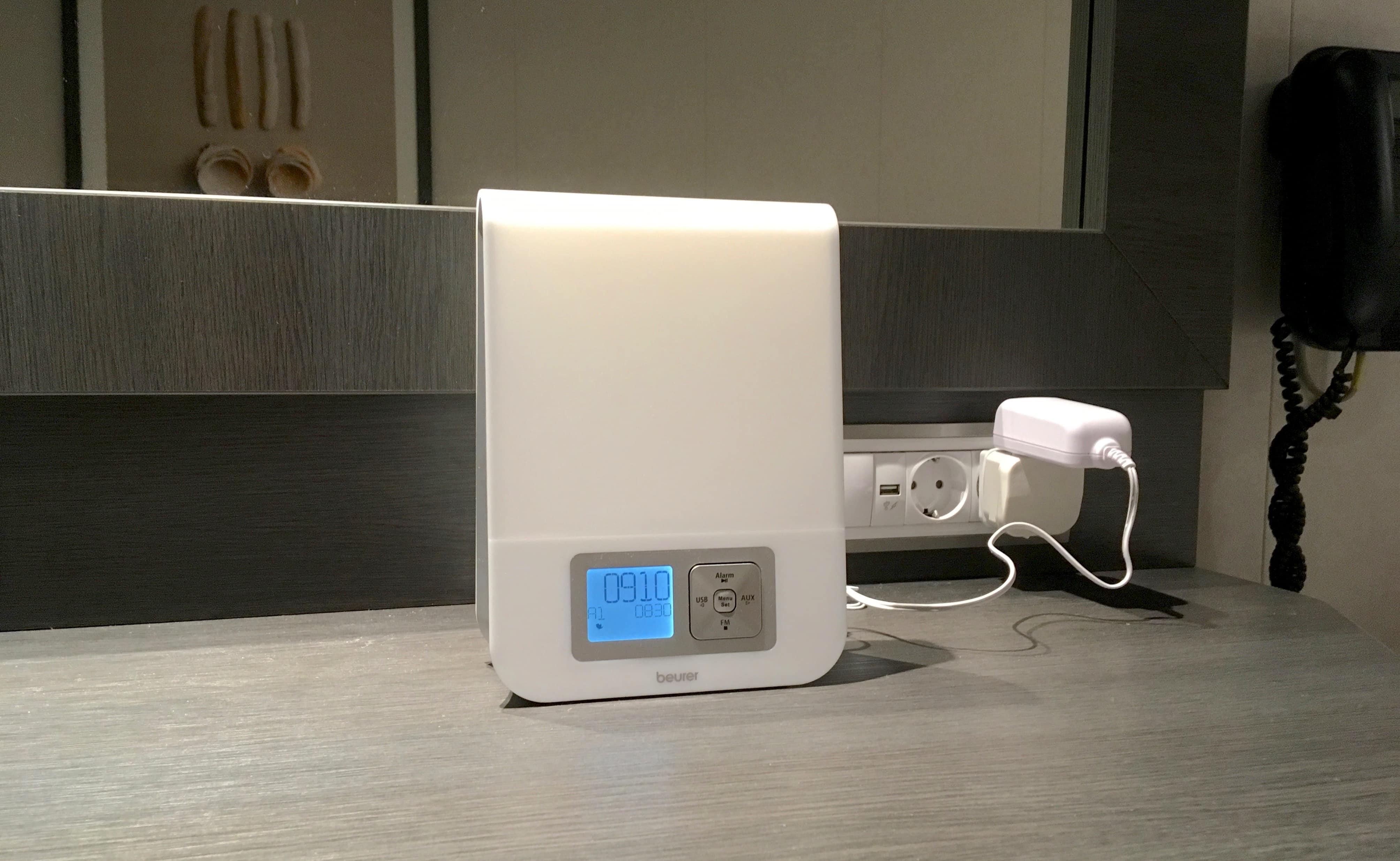 beurer wl80 wake up lamp review
