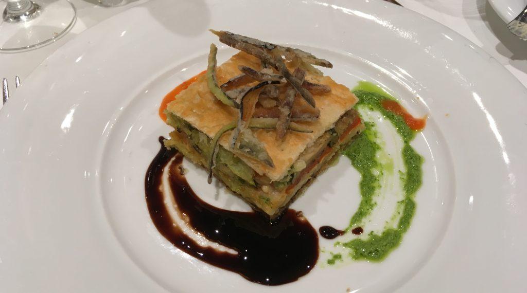 msc meraviglia food main dining room vegan cruise