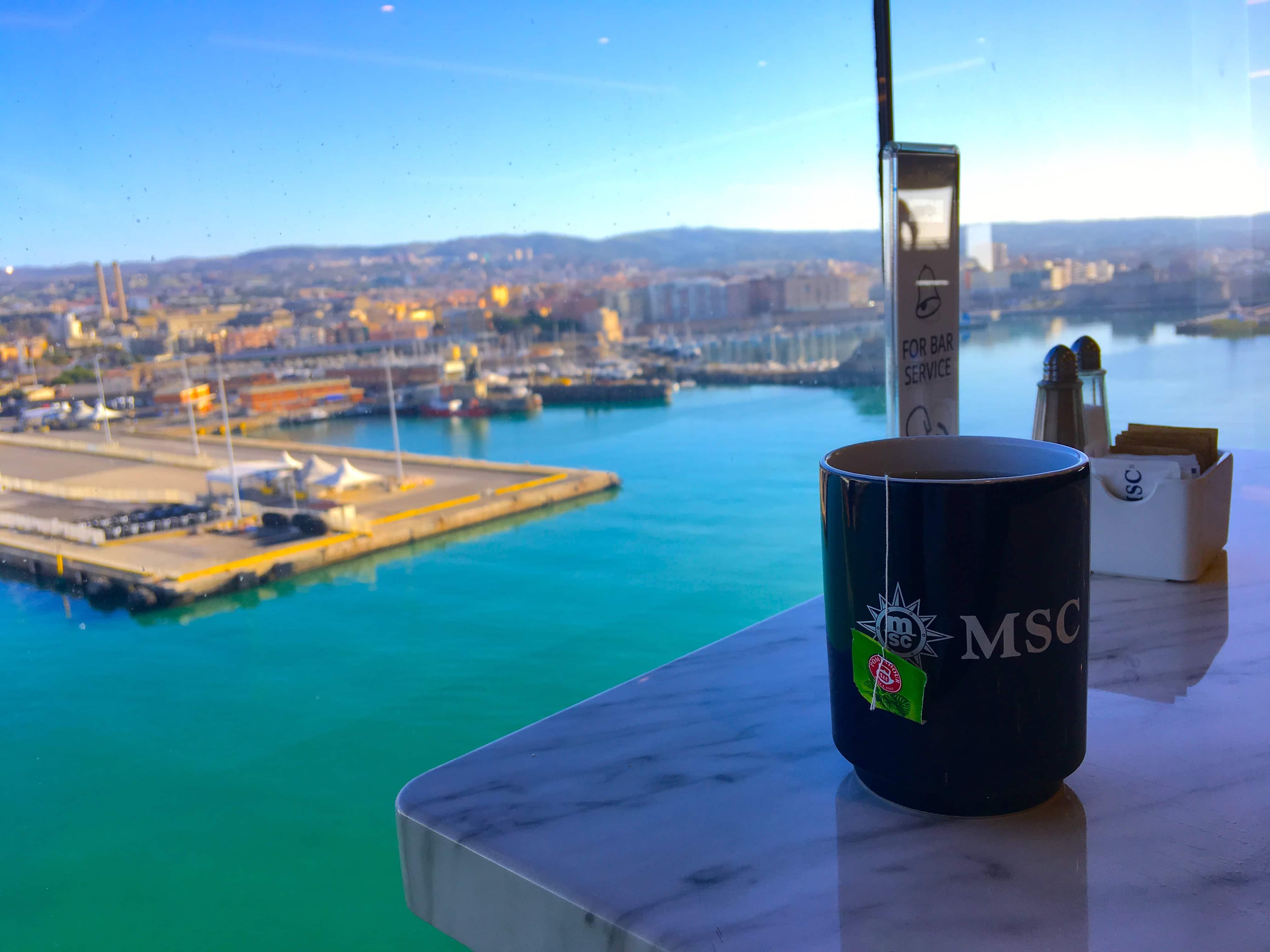 MSC mug msc meraviglia