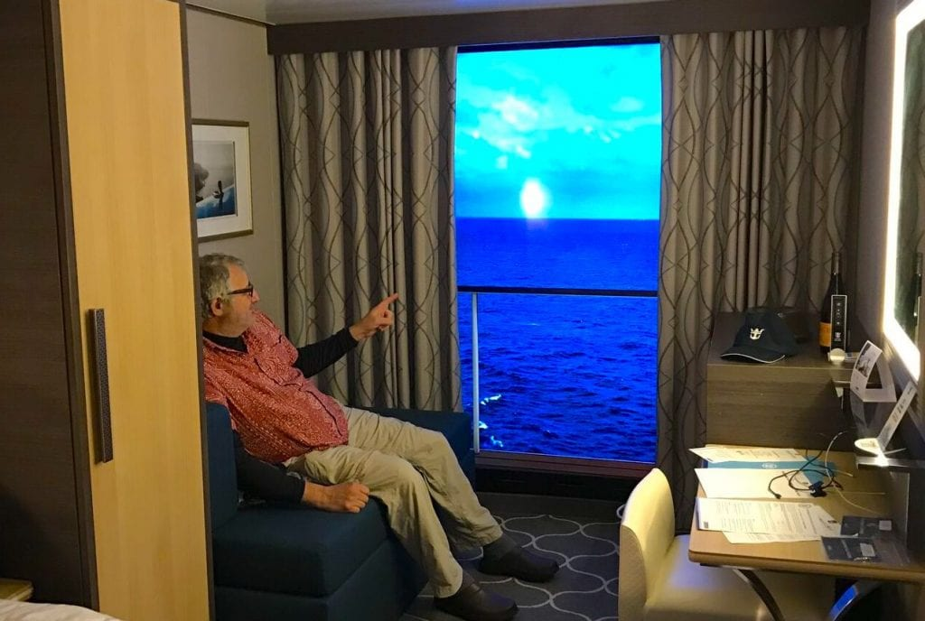 harmony of the seas virtual balcony cabin