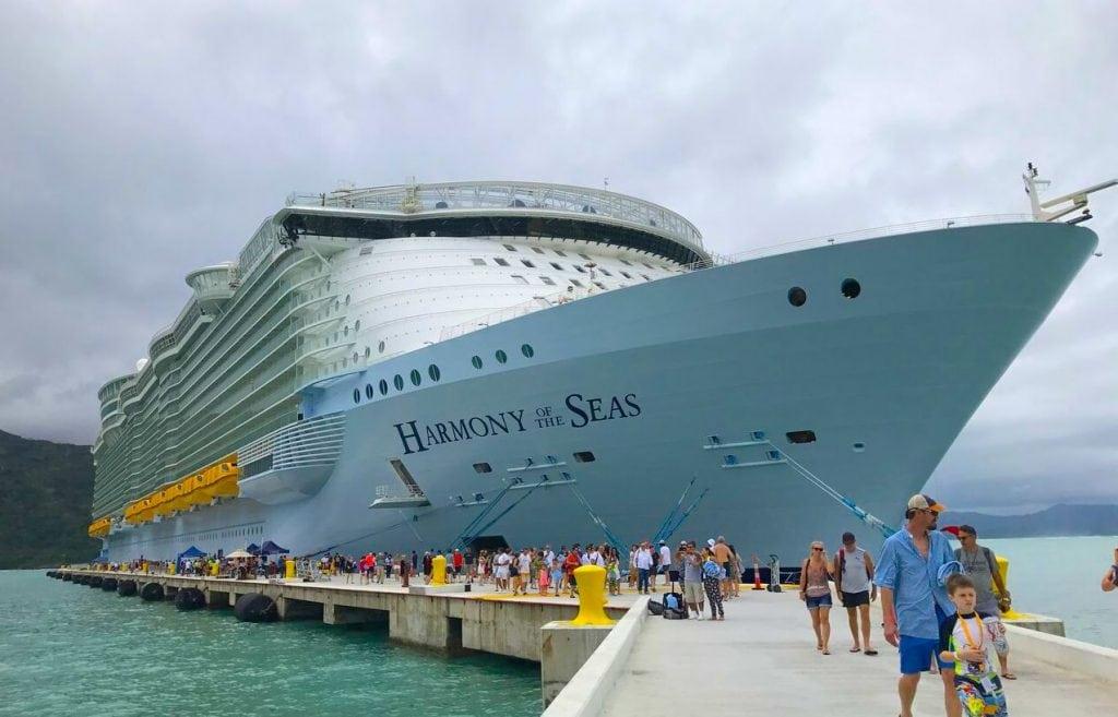 harmony of the seas cruise ship caribbean