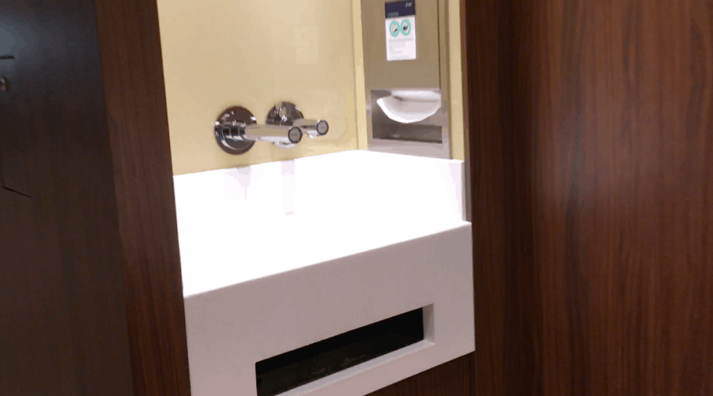 sink msc meraviglia no hand sanitiser buffet