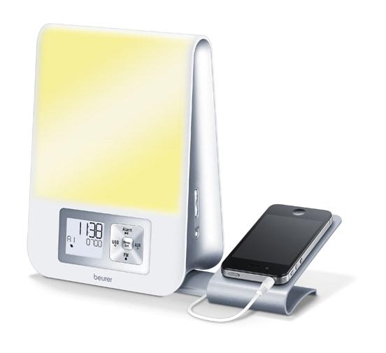 beurer wl80 review wake up lamp