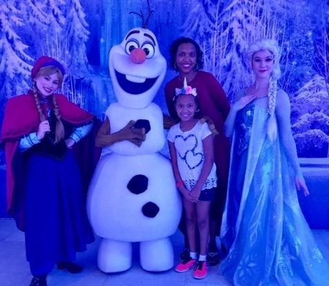 disney cruise line frozen theatre entertainment show