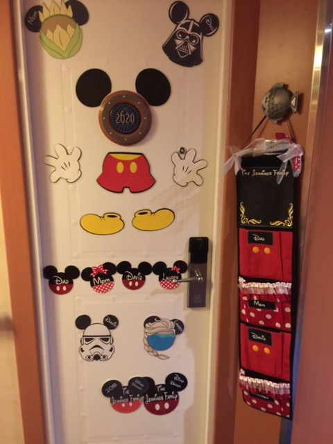 disney cruise line fish extender door decorations