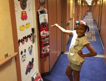 disney cruise line fish extenders door decoration corridor