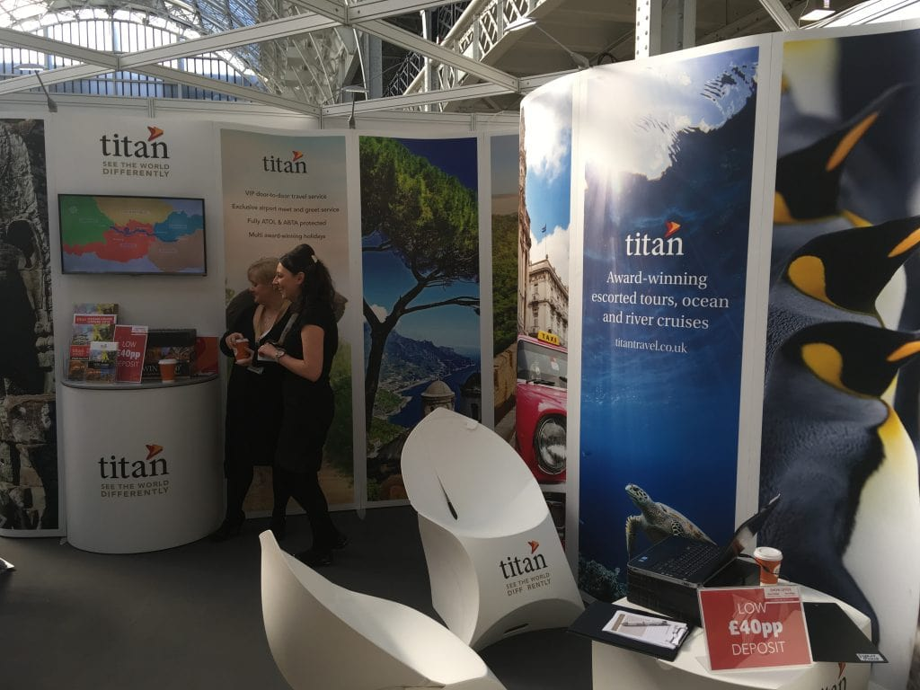 london cruise show titan stall 2018