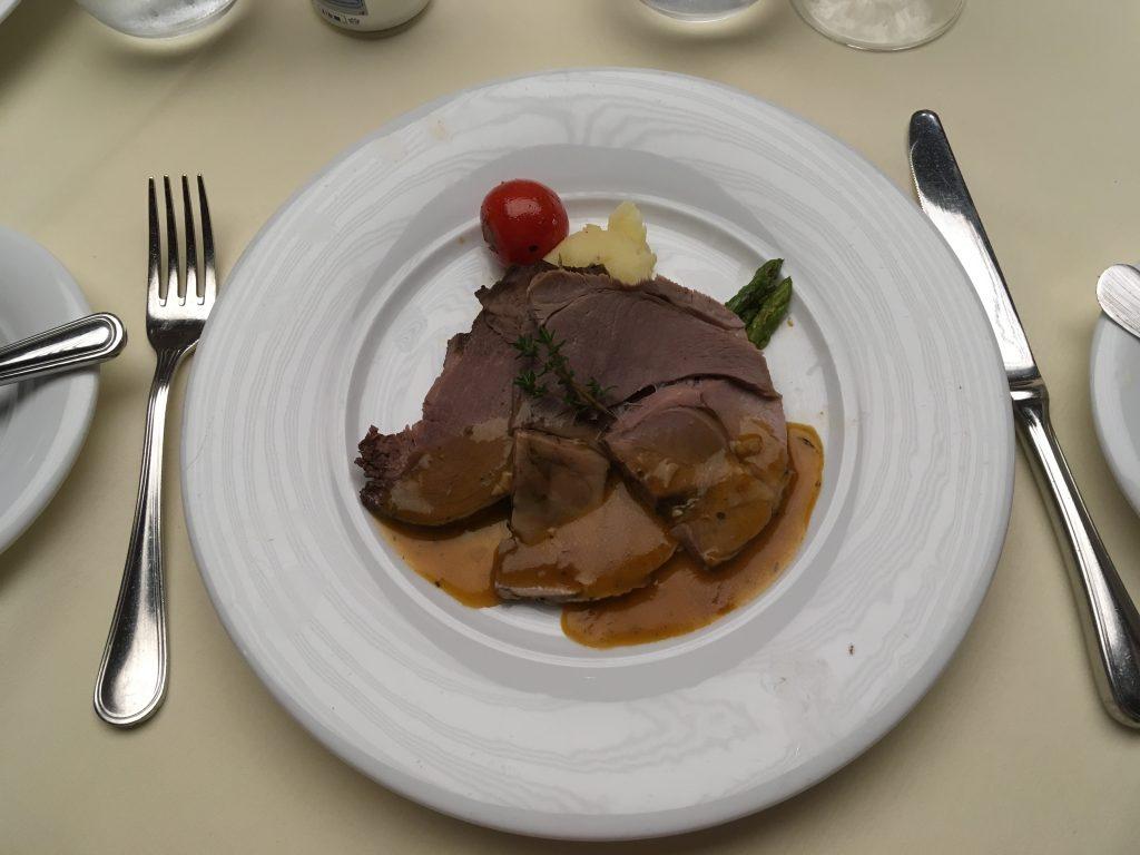christmas lunch MSC Meraviglia