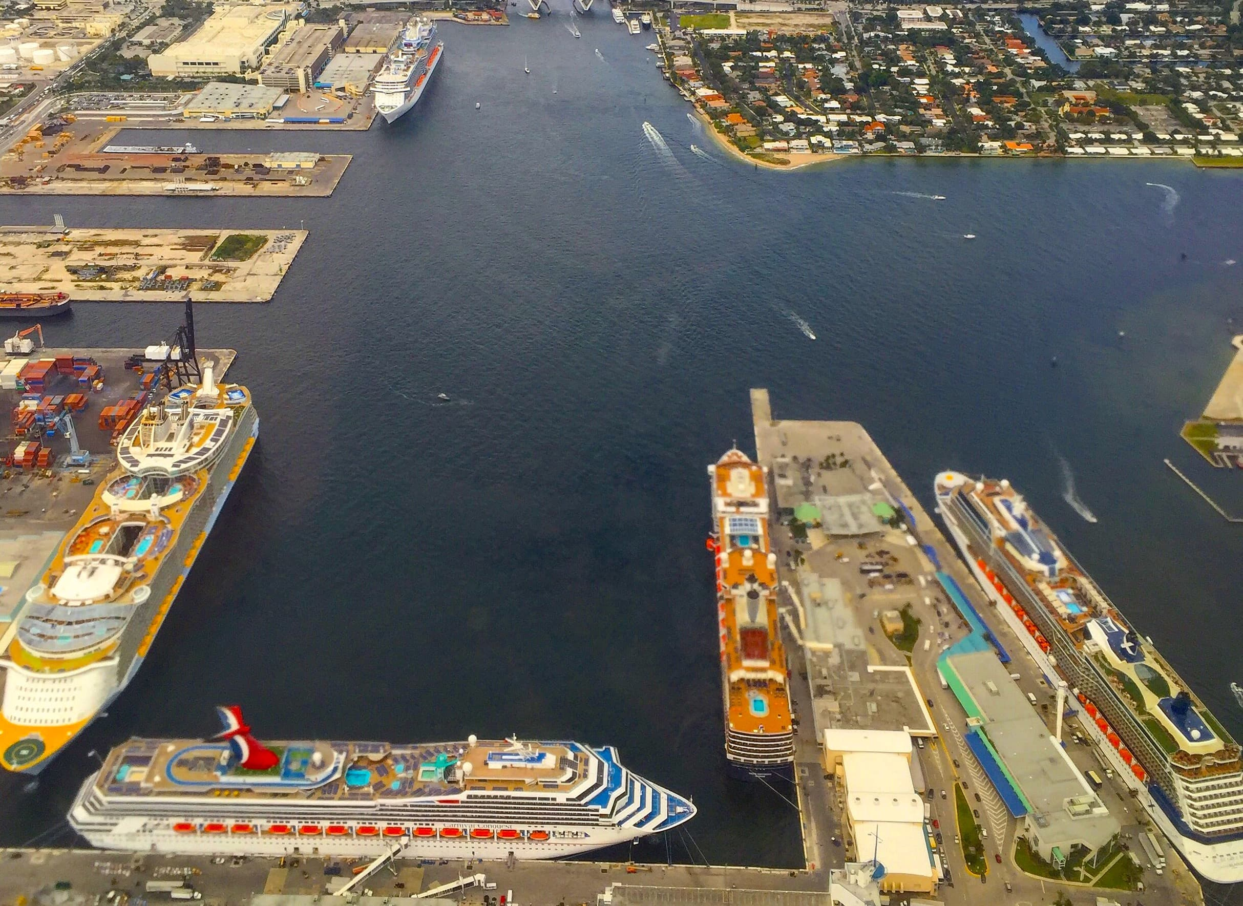 Fort Lauderdale Florida Cruise Ship Sky View Ports Cruising Isnt Just For Old People