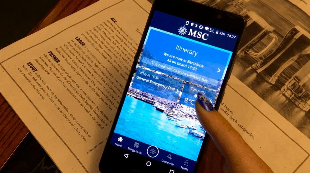 msc for me mobile phone app msc meraviglia