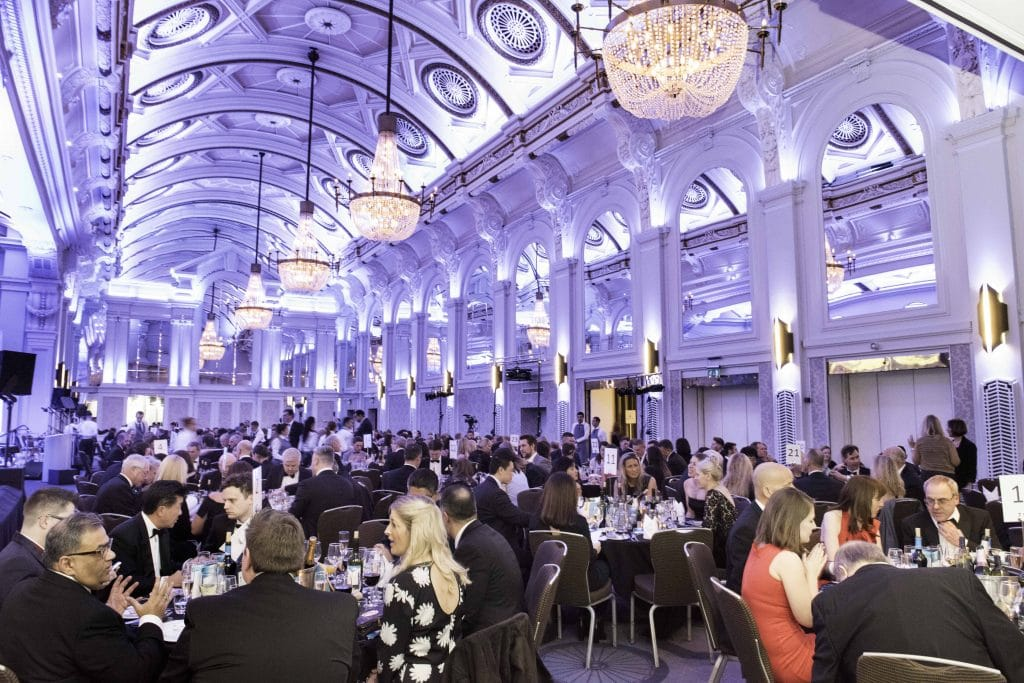 The Wave awards 2018. The Grand Connaught Rooms London wave awards emma cruises