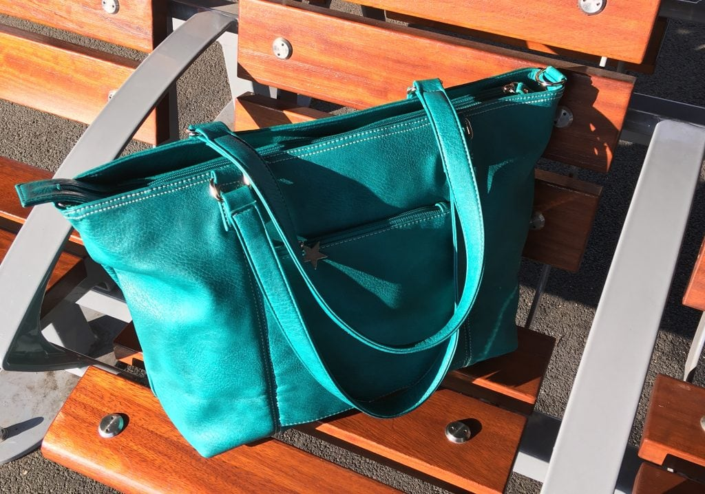 Mia Tui bag handbag mini jen green review discount code