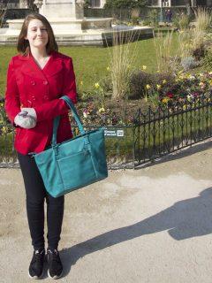 mia tui mini jen travel bag green emma cruises paris