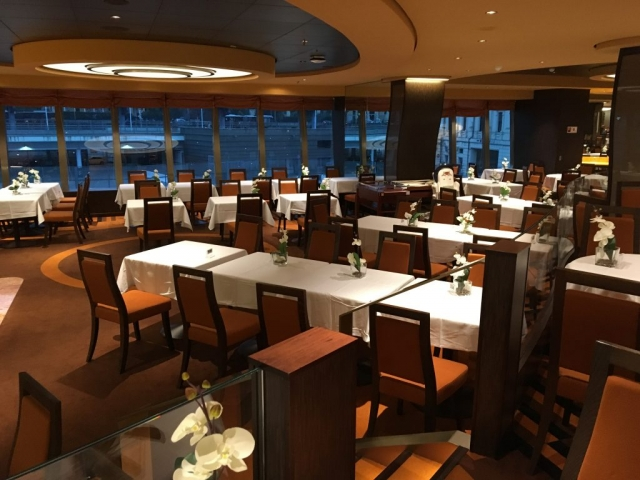 msc meravigla dining room