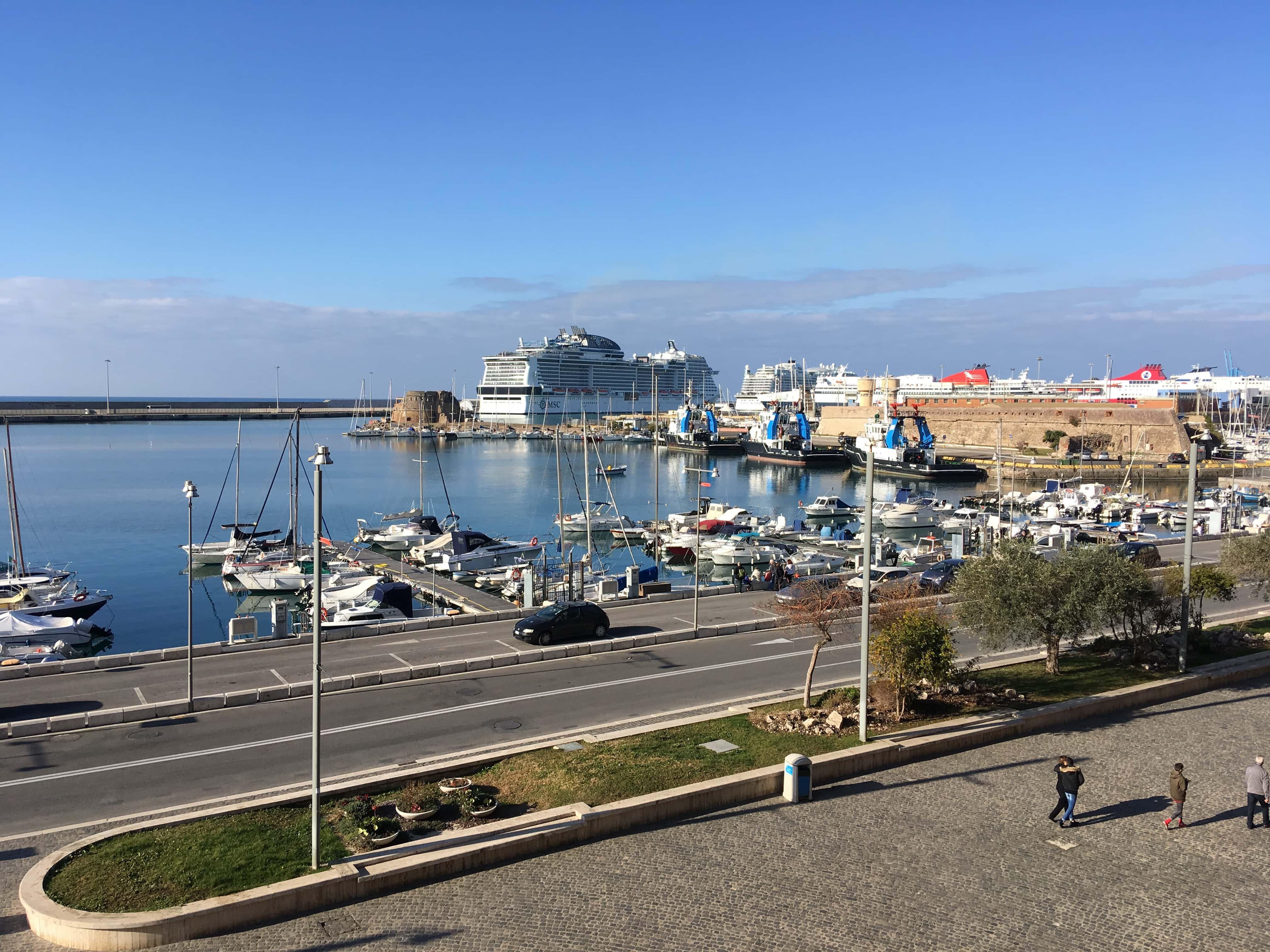 msc meraviglia in civitavecchia rome cruise ship
