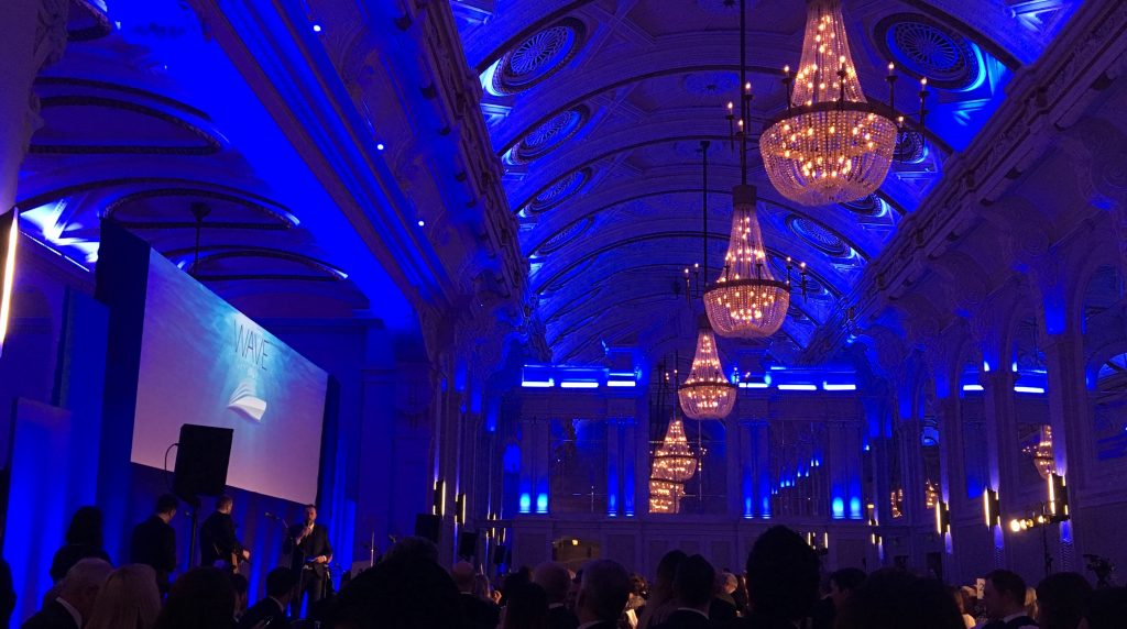 alex horne wave awards 2018 grand connaught rooms