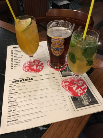 msc meraviglia pub beertails brass anchor menu
