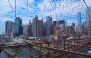 new york view from brooklyn bridge
