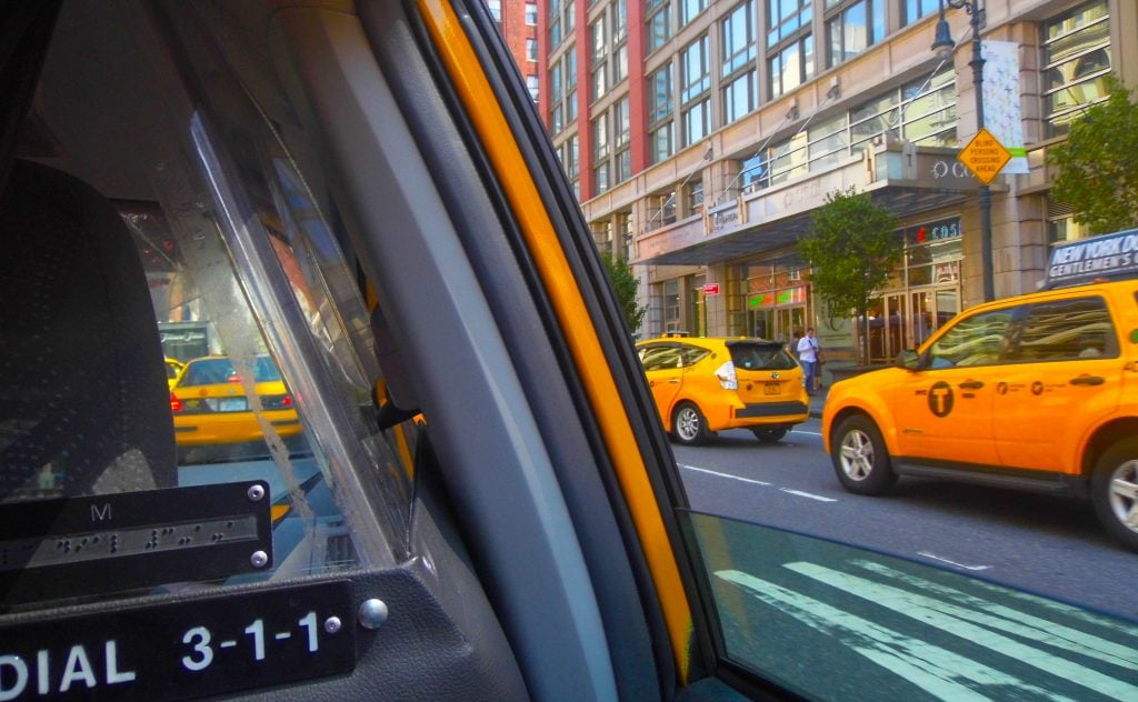 new york city cab taxi