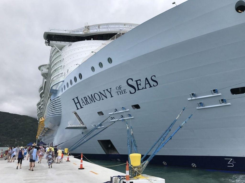 harmony of the seas virtual balcony review