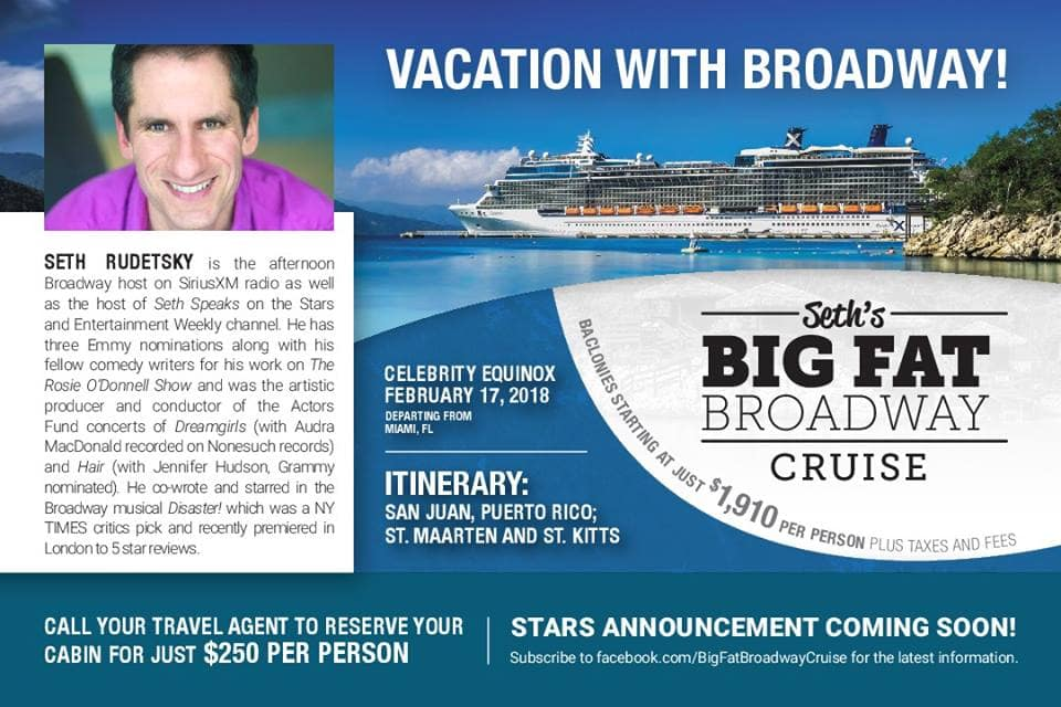 vacation with broadway cruise