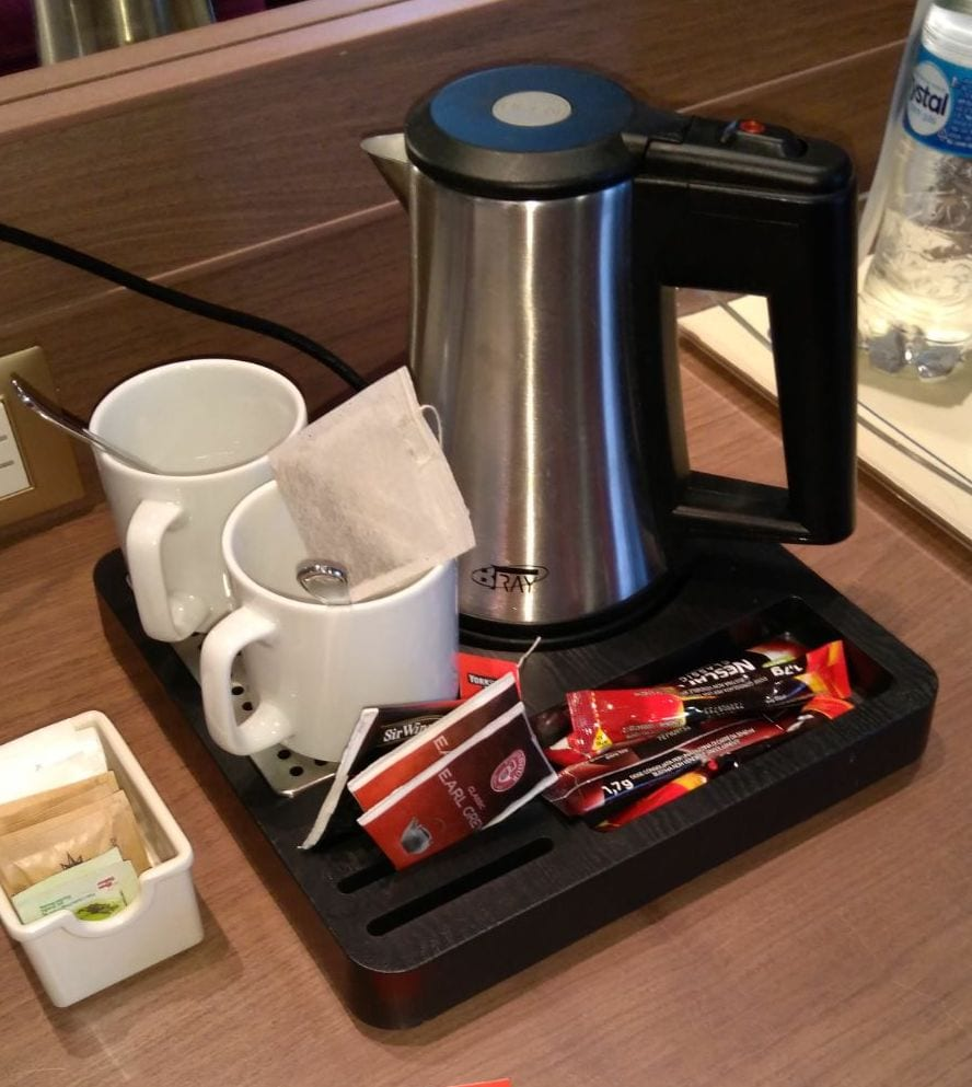 msc magnifica tea and coffee making facilities