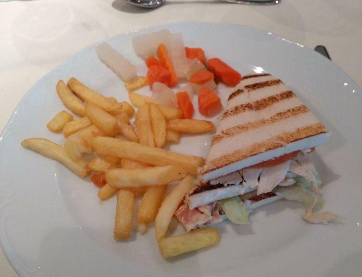 msc club sandwich