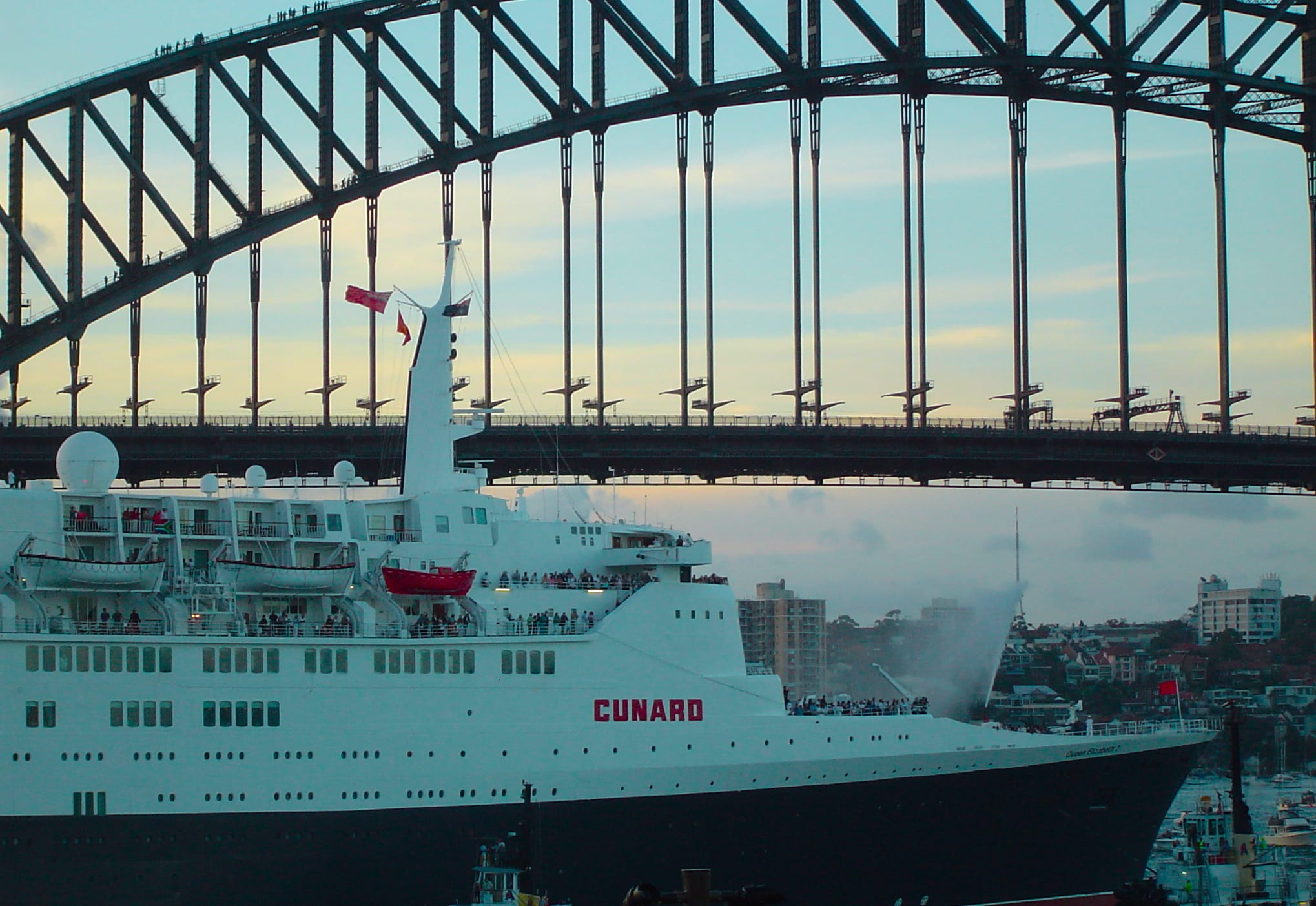 queen elizabeth sydney bridge australia