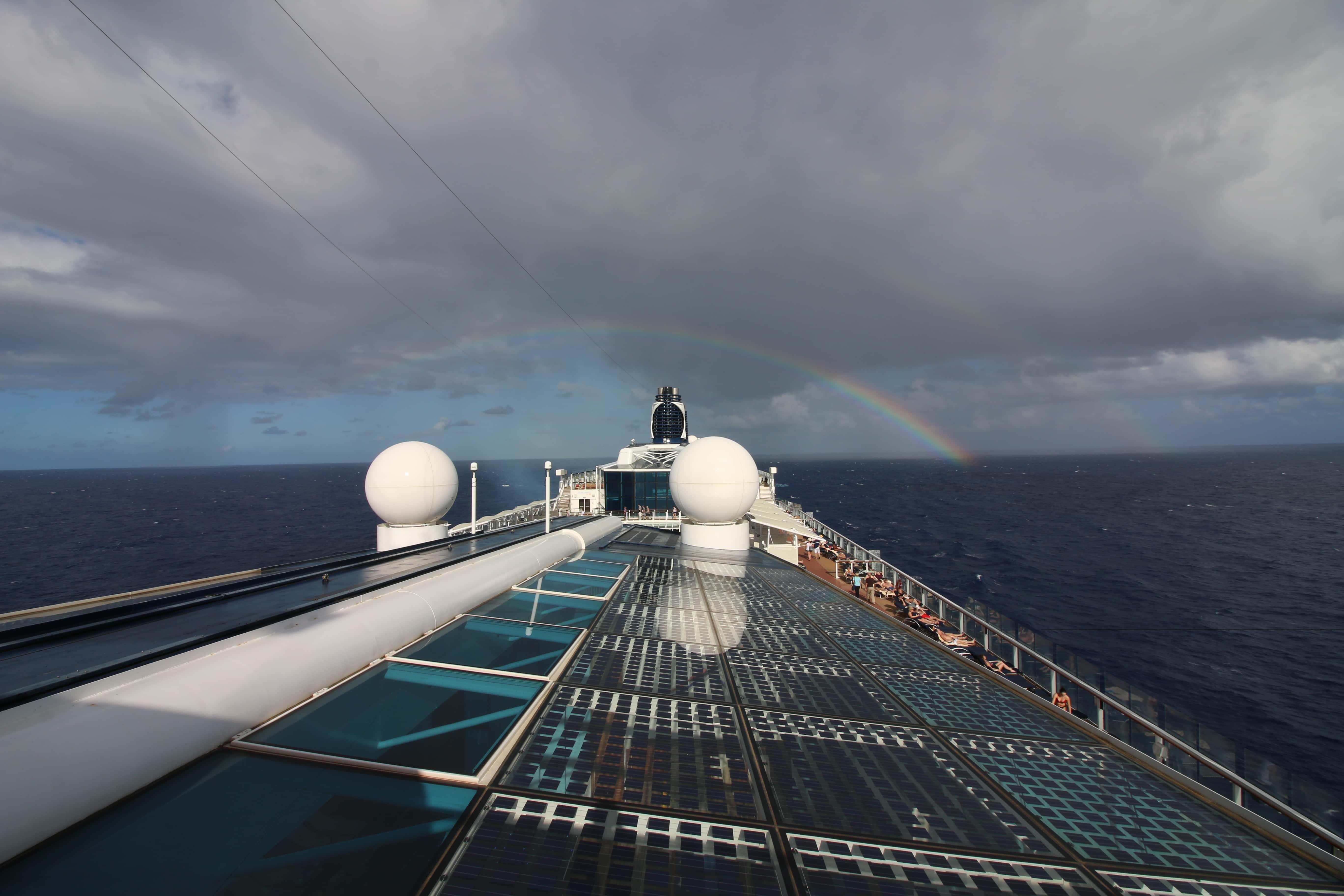 celebrity equinox rainbow