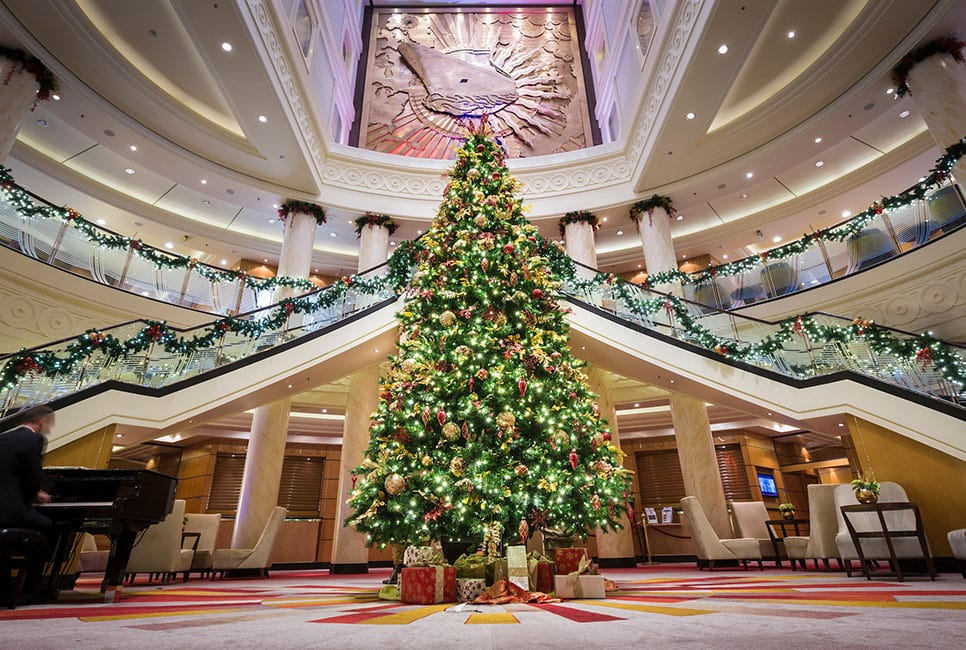 cunard christmas tree