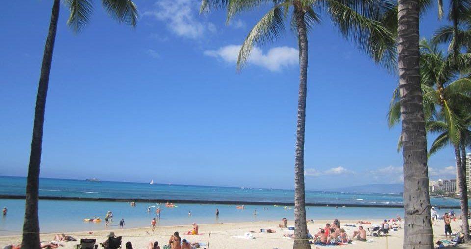 hawaii cruise waikiki beach