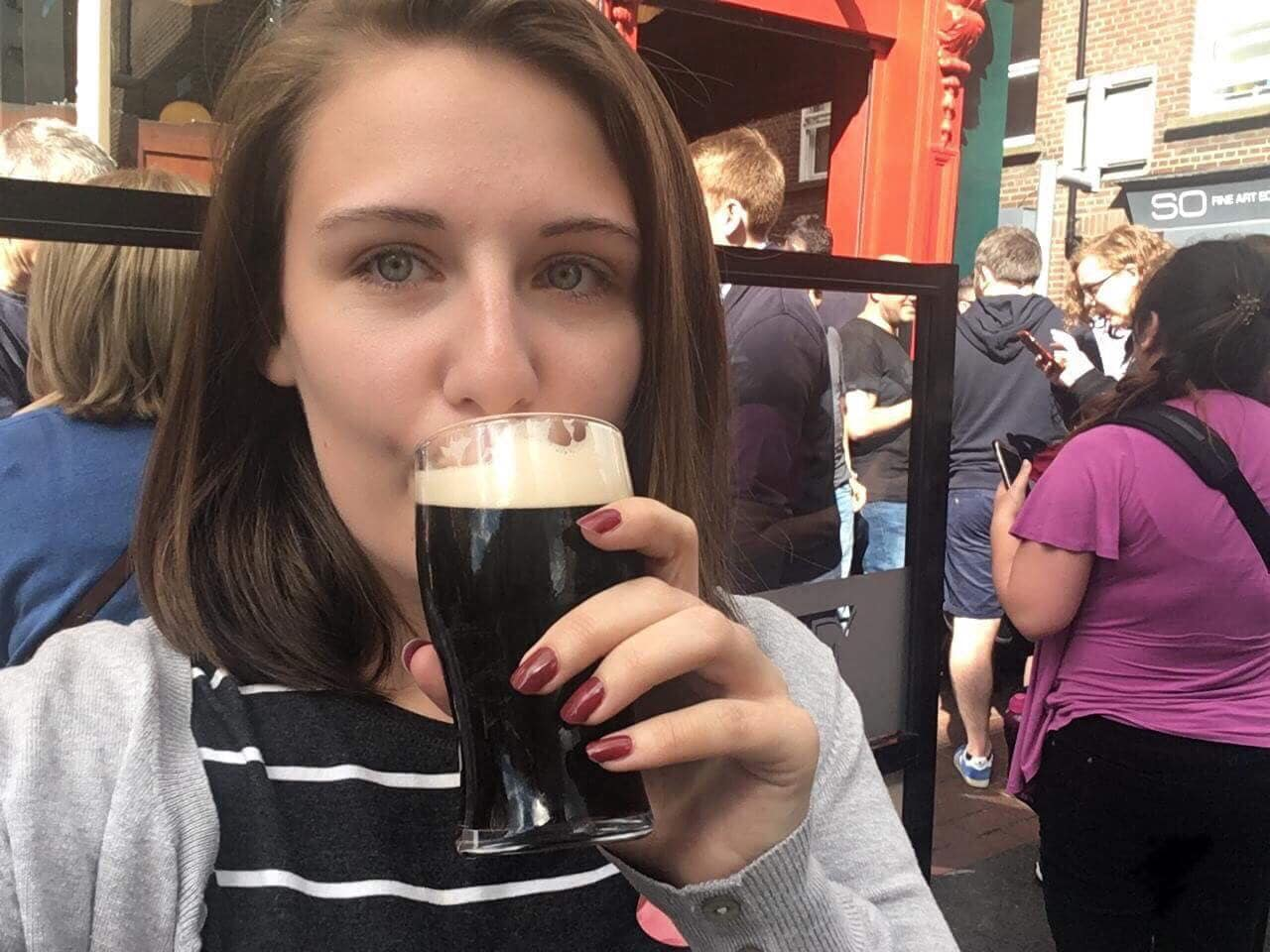 British Isles Princess Cruise Excursions Dublin Guinness Walking Tour Pub Visit