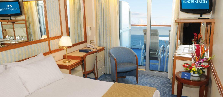 Golden Princess Balcony Cabin Cruise Ship