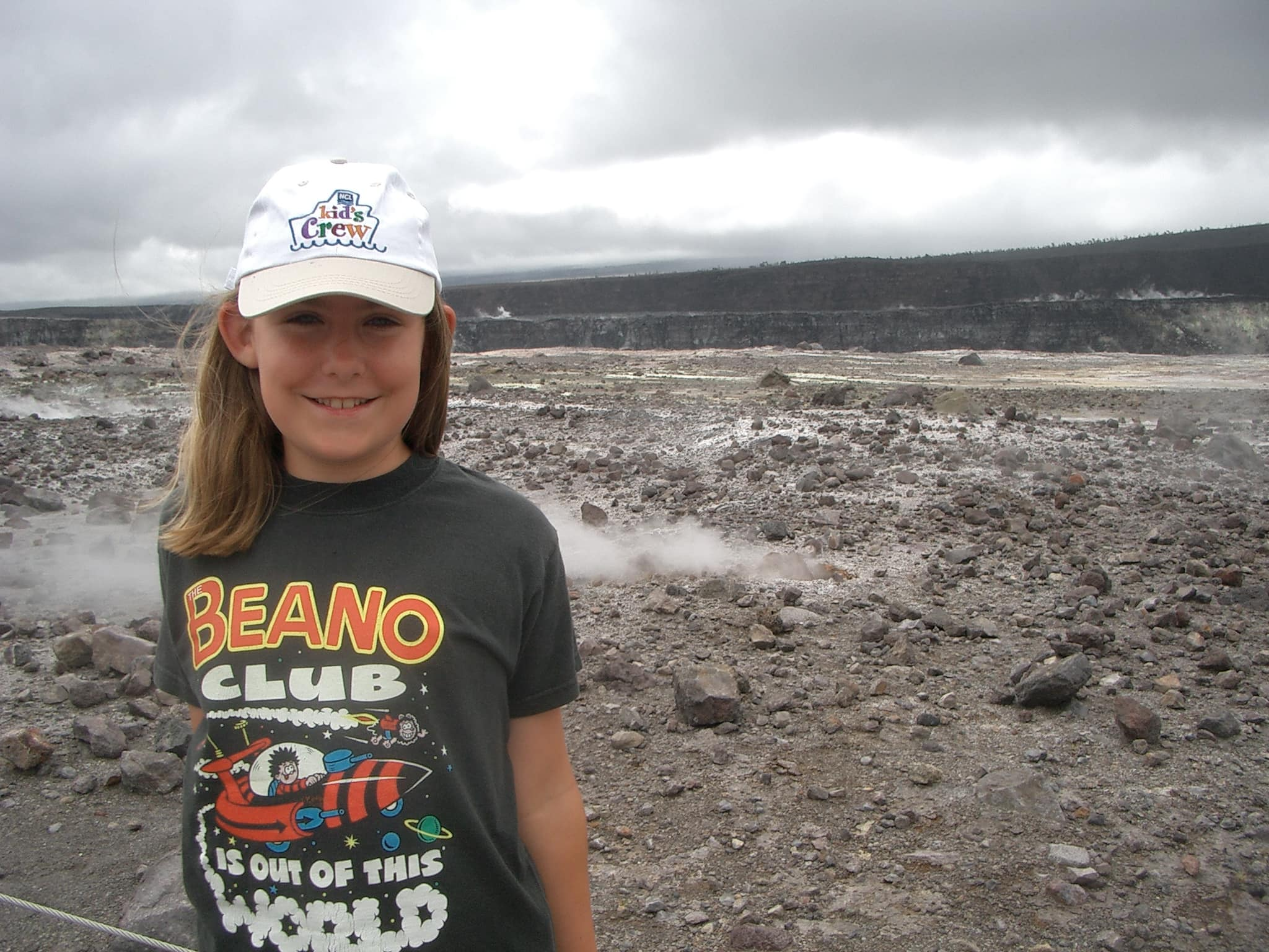 cruising as a child hawaii beano club ncl kids crew hat