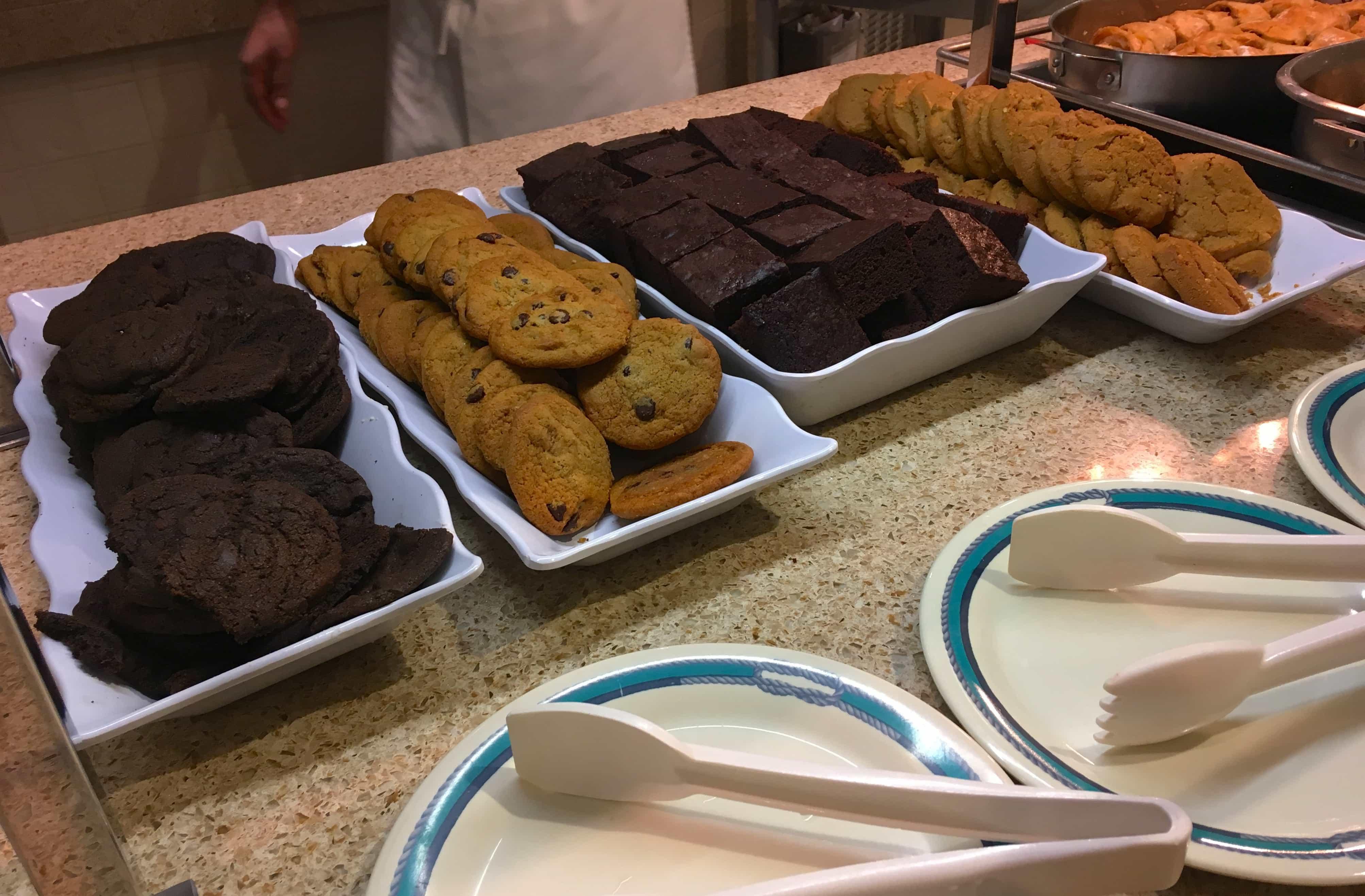 Cookies and Brownies Golden Princess Dessert Buffet
