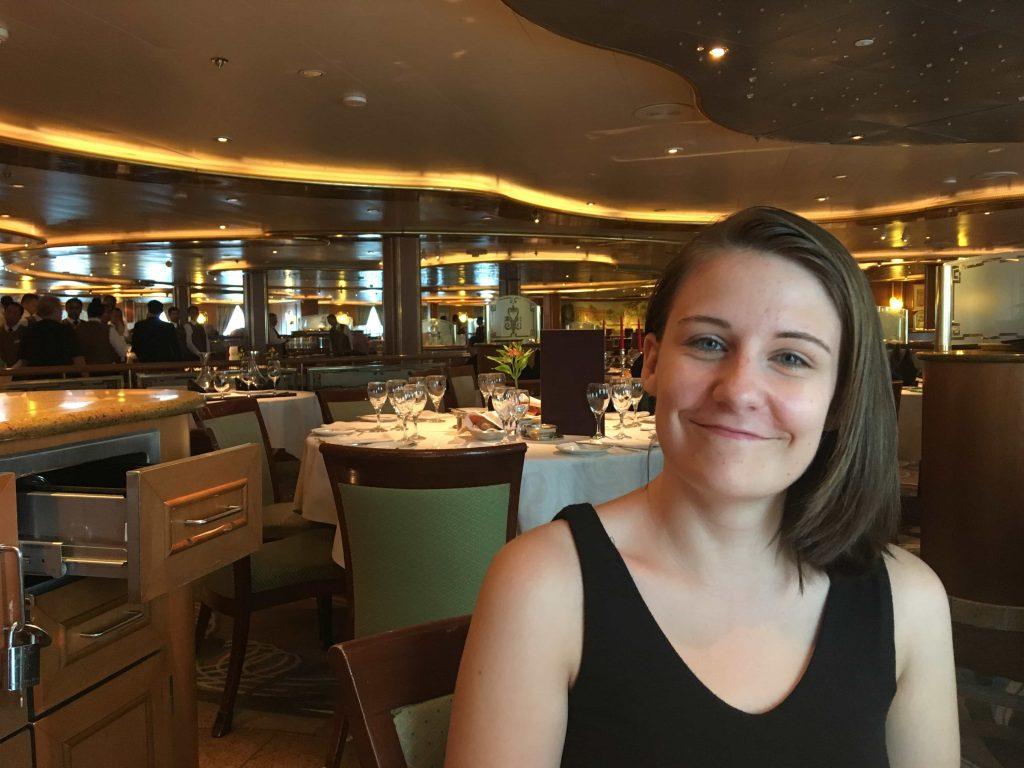 Golden Princess Main Dining Room Girl Me