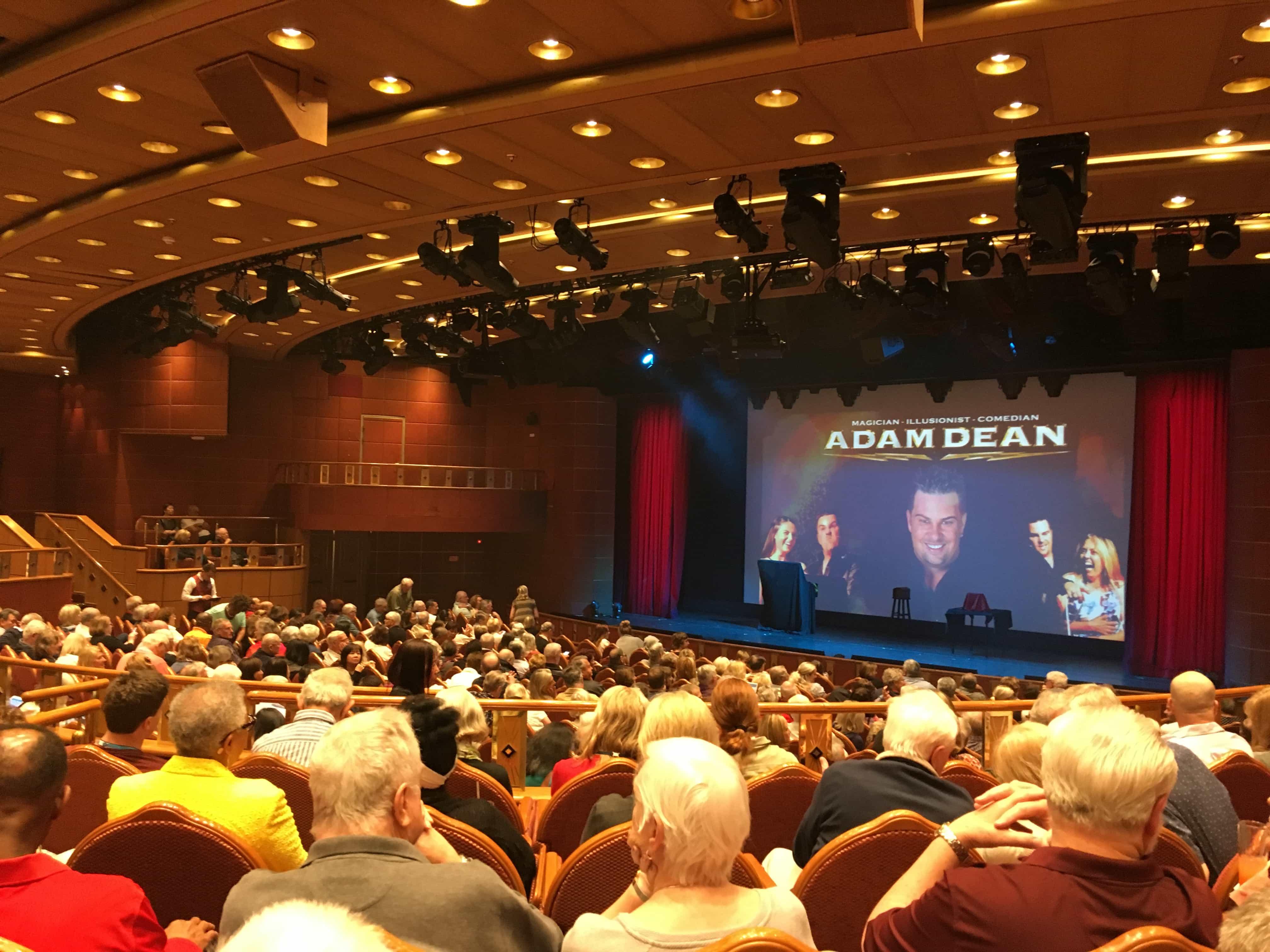 Golden Princess Theatre Adam Dean Magician