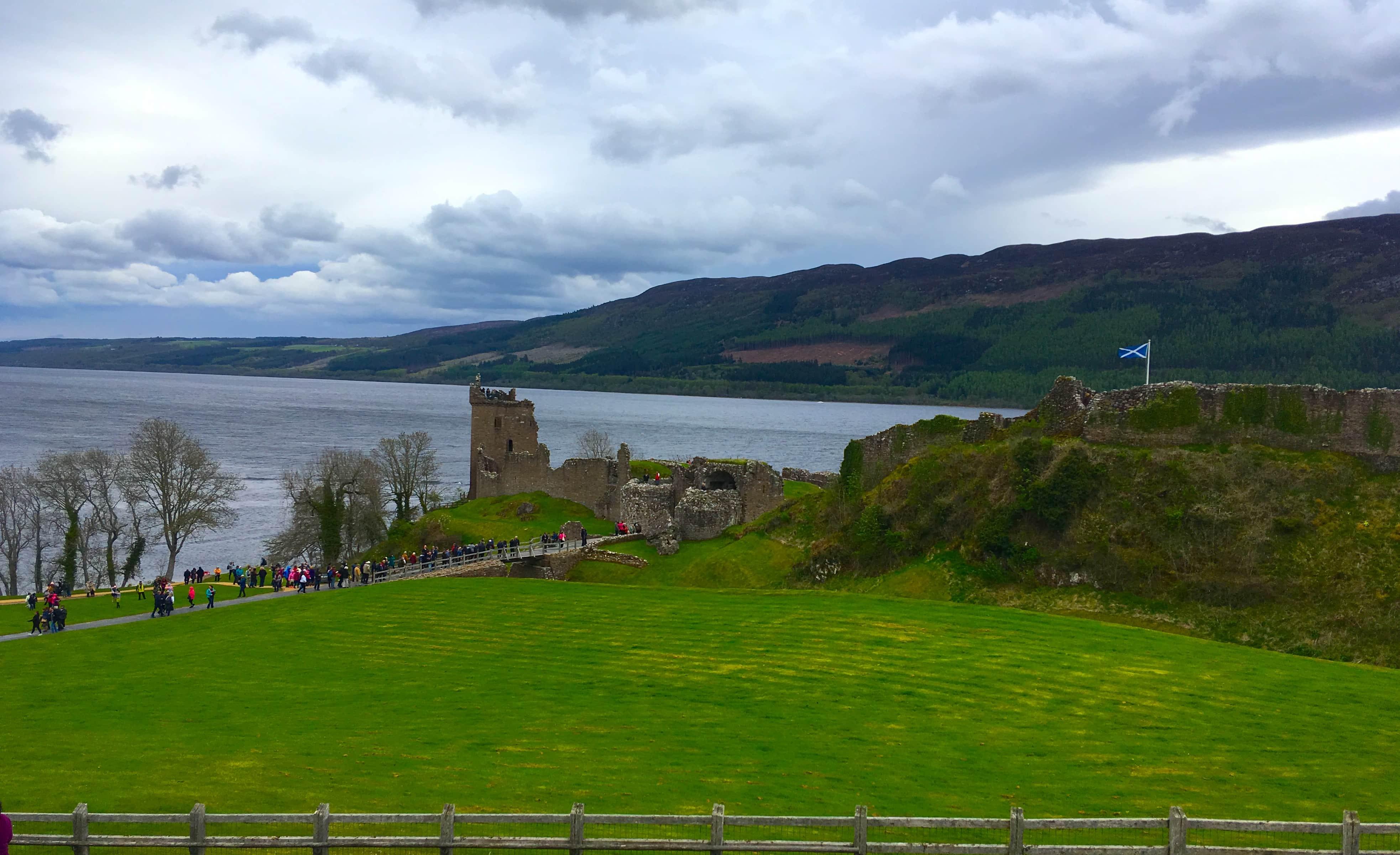 British Isles Princess Cruise Invergorden Loch Ness Urquhart Castle