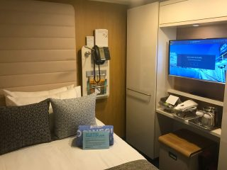 norwegian bliss solo cabin tv phone bed