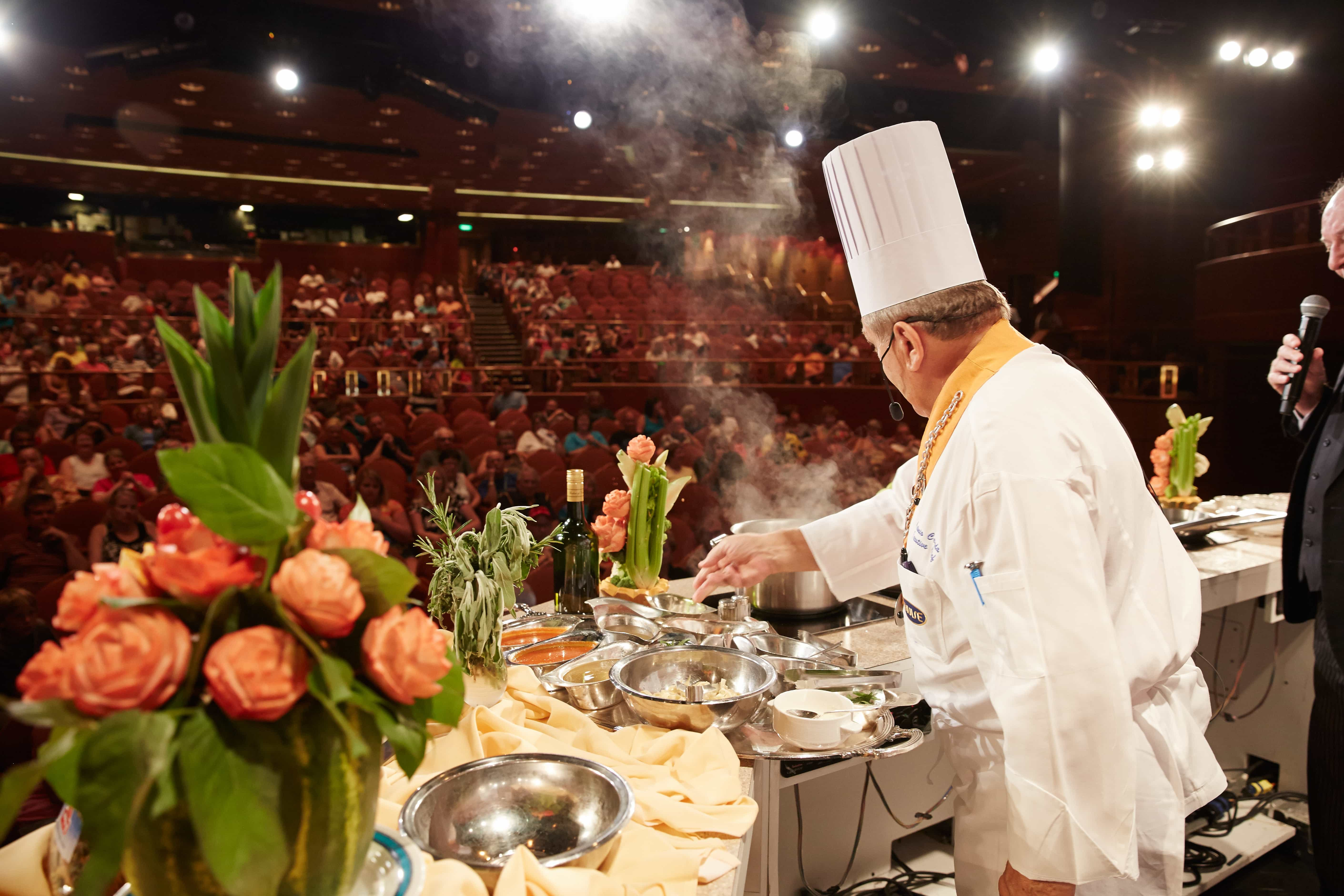 princess cruises ruby cooking demonstration