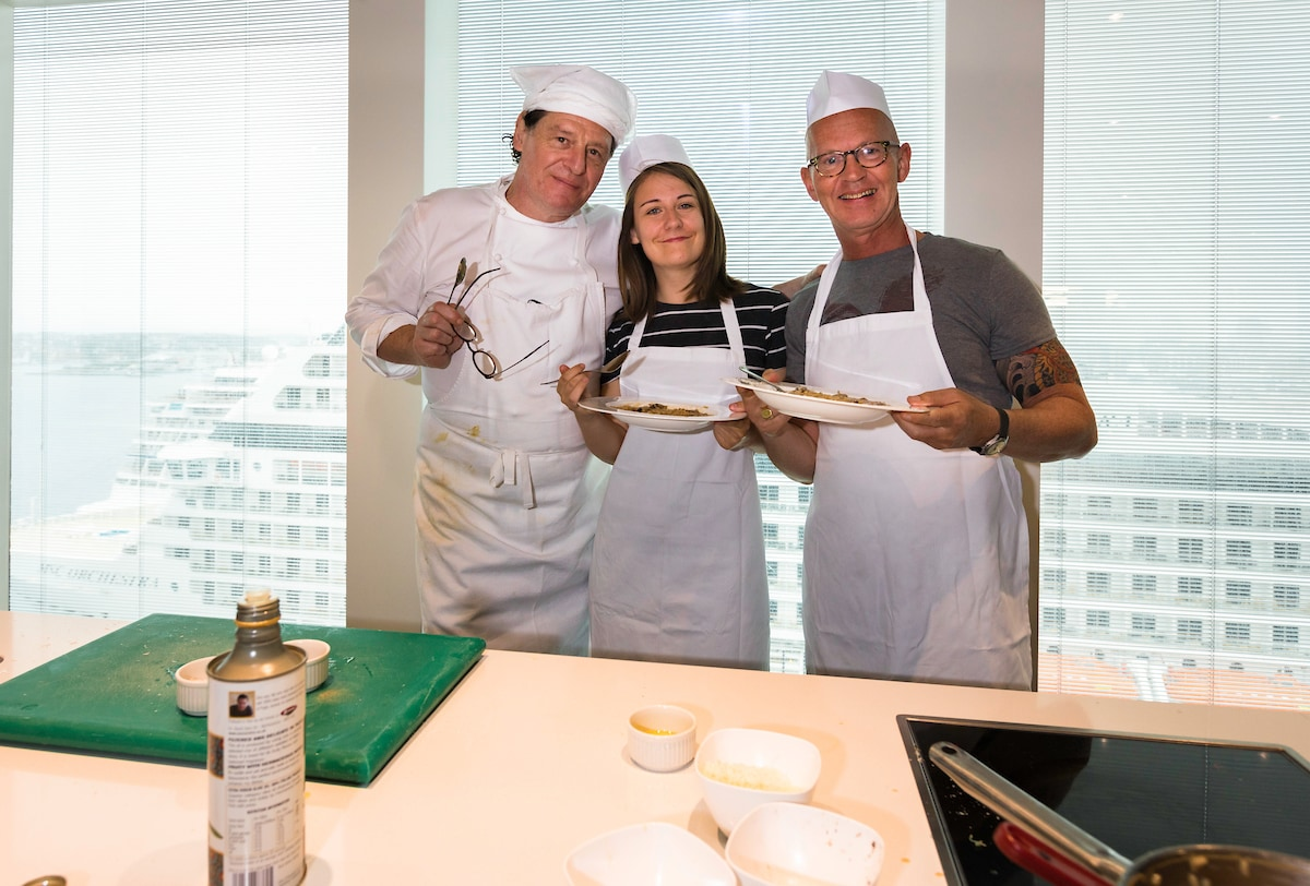 marco pierre white cookery class club p&o britannia