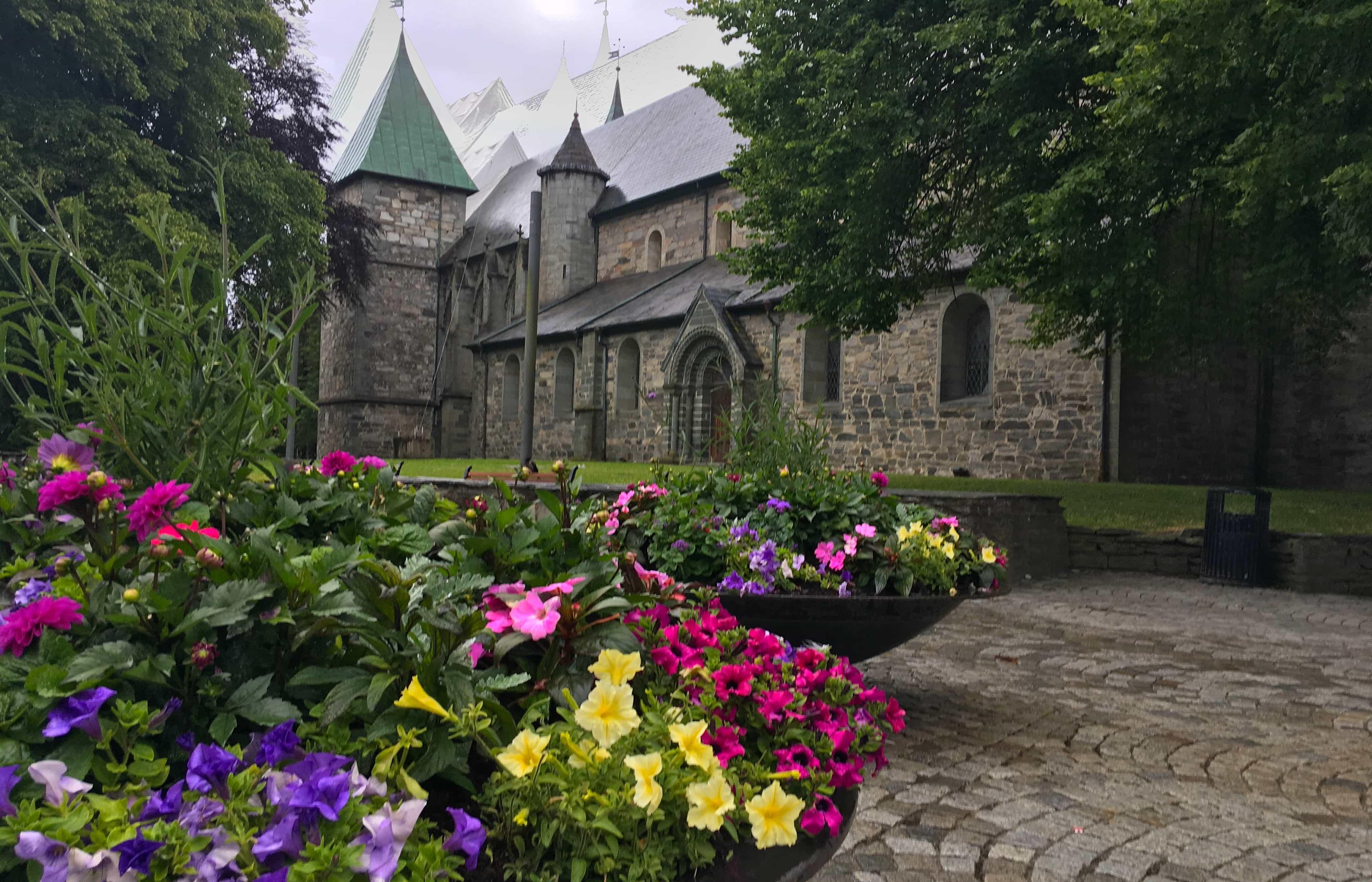 norwegian fjords norway stavanger cathedral