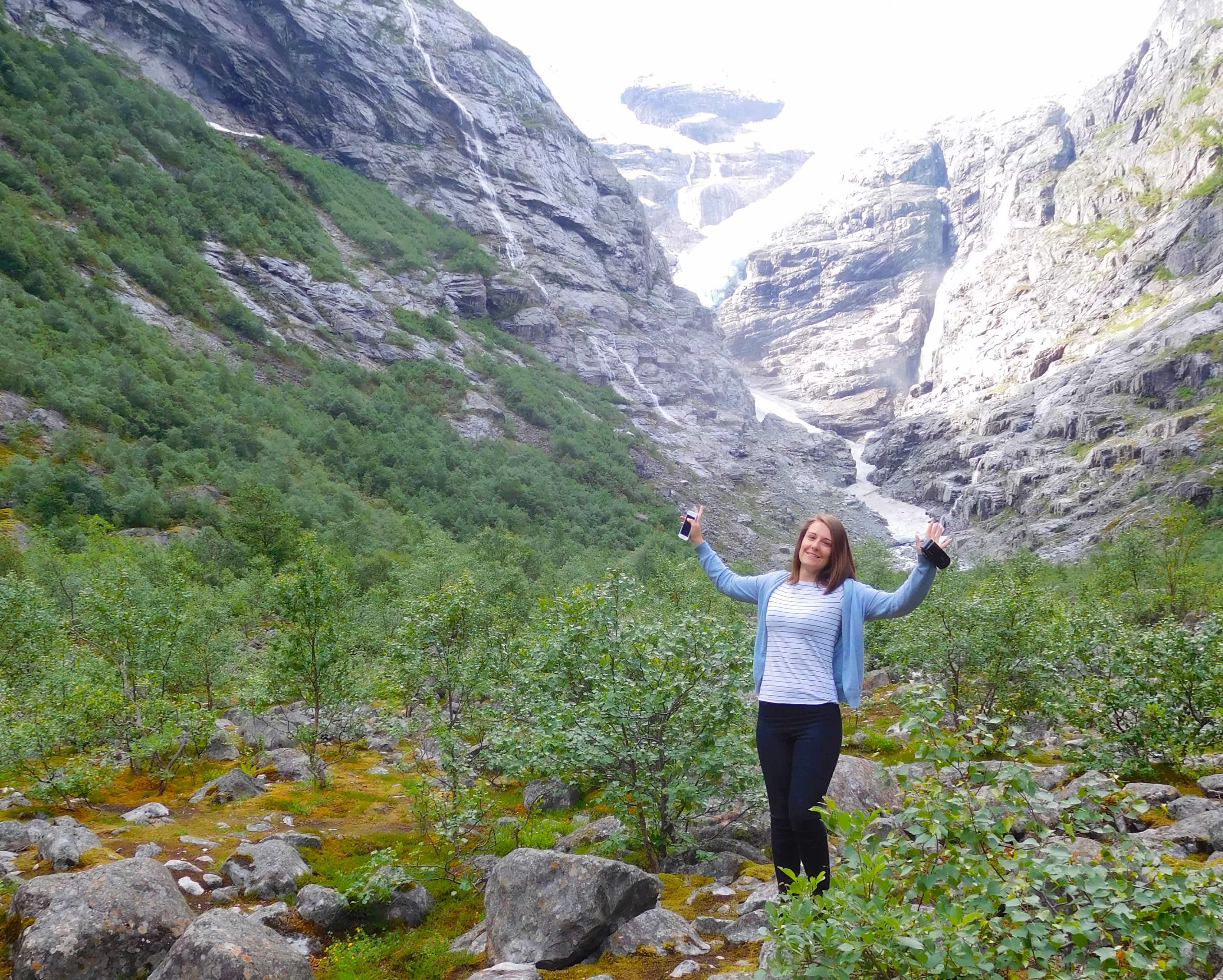 norwegian fjords cruise norway briksdal glacier
